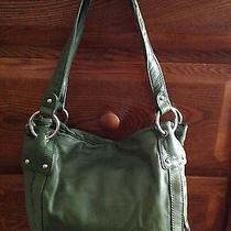 Green Leather Purse  Photo