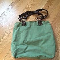 Green Levi's Canvas Bag Photo