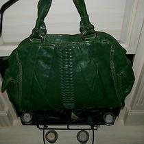 Green Lucky Brand Italian Lamb Leather  Green With Gold Hardware (Rare) Photo