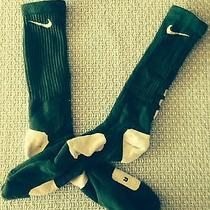 Green Nike Elite Socks Photo