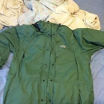 Green North Face Jacket Photo