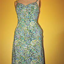 Green Paisley Sundress Photo