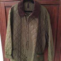 Green Quilted Barbour Coat Photo