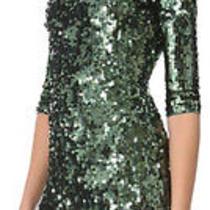 Green Sequin Dress Photo