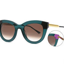 Green Sunglasses Thierry Lasry Cupidity 3473 Hand Made in France New Photo