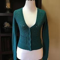 Green Sweater by Fossil Size S Photo