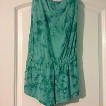 Green Tie Dye Romper Photo