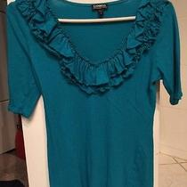Green Top by Express Size Small Photo