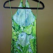 Green Tropical Escada Dress Photo