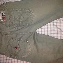 Green True Religion Jeans Photo