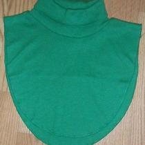 Green Turtleneck Dickie Collar Photo