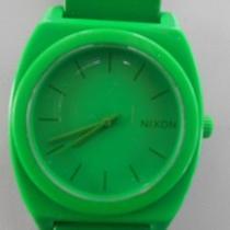 Green Watch Nixon Time Teller P  Photo