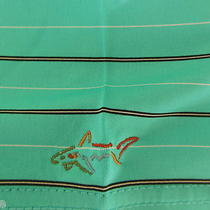 Greg (The Shark) Norman Play Dry Golf/casual Polo Nwt Aqua W/stripes Men Xl Photo