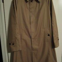 Grenfell Campbell Rain Coat - Size 42 - Beige Photo