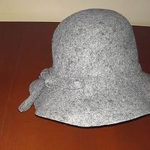 Grey Aqua Brand Hat New Over Stock With Tags 100% Wool Photo