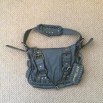 Grey Betsey Johnson Leather Purse Photo