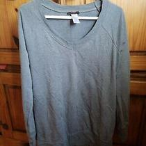 Grey Cute Sweatshirt Mark by Avon Size Large Photo