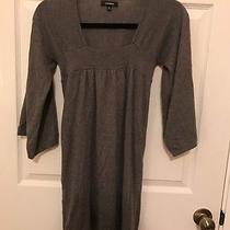 Grey Express Blouse or Dress. Cute Top. Size Xs Photo