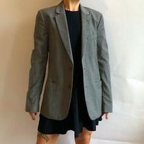 Grey Fine Striped Martin Margiela Oversized Mainline Blazer Size 40 Photo