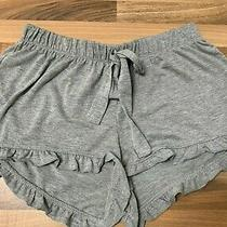 Grey Lounge Wear Frill Shorts Xs Size Uk 6/8 From Primark  Excellent Condition Photo