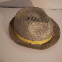 Grey Mens Straw Hat by Concept One Photo