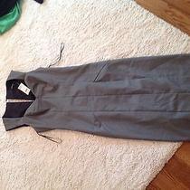 Grey Work Dress Express Size 2 Photo