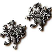 Griffin Cufflinks - Gifts for Men - Anniversary Gift - Handmade - Gift Box Photo