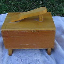 Griffin Shinemaster Antique Shoe Shine Box Photo