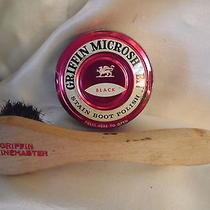 Griffin Shinemaster Horsehair Applicator & Microsheen Polish Shoe Shine Boot  Photo
