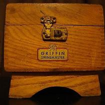Griffin Shinemaster Shoe Shine Box Photo