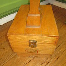 Griffin Shinemaster Shoe Shine Wood Box Photo