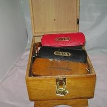 Griffin Shoe Shine Box With Accessories Photo