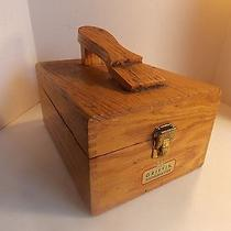 Griffin Wooden Shoe Polish Box Photo