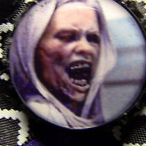 Grimm Fairytale Monster Adalind Schade Black & White Bow Hair Clip Fantasy Tv Photo