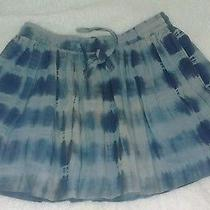 Gryphon Blue Tie Dye Mini Skirt M Photo