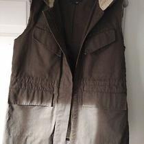 Gryphon Khaki Vest Size Small With Hood Photo