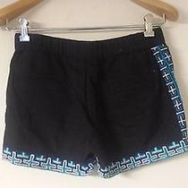 Gryphon Men's Black With Blue Graphic Short Shorts Photo