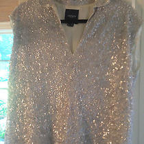Gryphon Sequined Top Size M Sleeveless Top  Photo