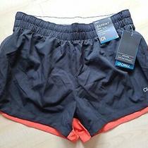 Gsprint Sz Small Running Shorts by Gap Fit - Black Orange White (2 1/2
