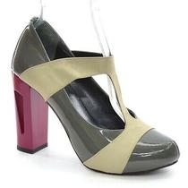 Guava 355 Element Mary Jane Pumps Womens 37 / 6.5 Patent High Heels New in Box Photo