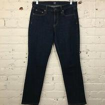 Guc Gap Women Real Straight Petite Jeans Denim in 27p Photo