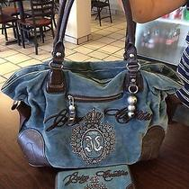 Guc Juicy Couture Aqua Purse Handbag With Wallet Photo