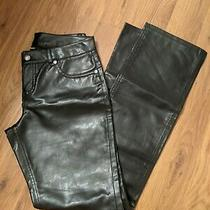 Guc Women's Express Faux Leather Pant Size 1/2 Photo