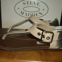 Guc Womens Size 9 Steve Madden Serenite Blush Sandals Photo
