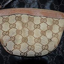 Gucci 100% Authentic Monogram Wrist Small Bag Photo