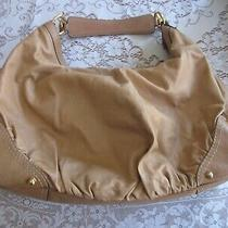 Gucci  - Authentic Leather Jockey Hobo Light Brown Photo