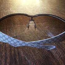 Gucci Authentic Sunglasses Unisex. Blkdl 120 Tan Gold Brown Photo