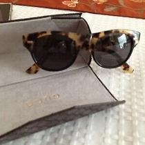Gucci Authentic Women's Tortoise Brown Sunglasses Gg108/s Y5qy1 Photo