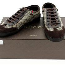Gucci Barcelona Supreme Canvas Low-Top Women Sneaker Size 5 Photo