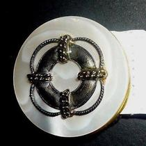 Gucci Beautiful Authentic Vintage White Leather Belt With Mother of Pearl Buckle Photo